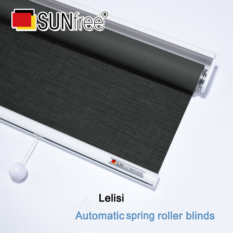 Sunfree High Quality Lelisi Fabric Blackout Roller Blinds Office Hotel Window Shades Shutter Made To Measure Roller Blinds