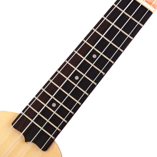 17 Inch Pocket Ukulele Hawaii 4 Strings Guitar Musical Instrument For Travel