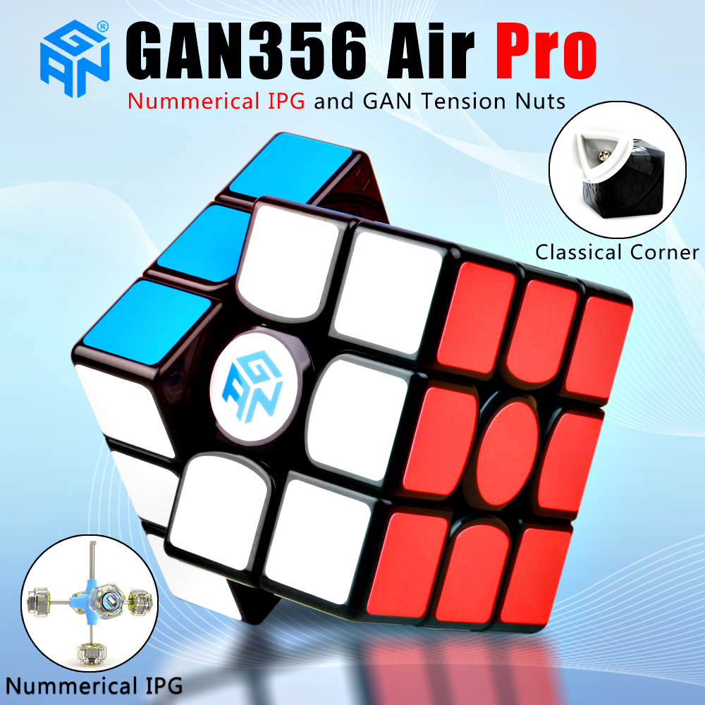 New GAN 356 Air Pro 3x3x3 magic speed cube With Numerical IPG professional gan356 air pro puzzle cubes gans 356Air Pro