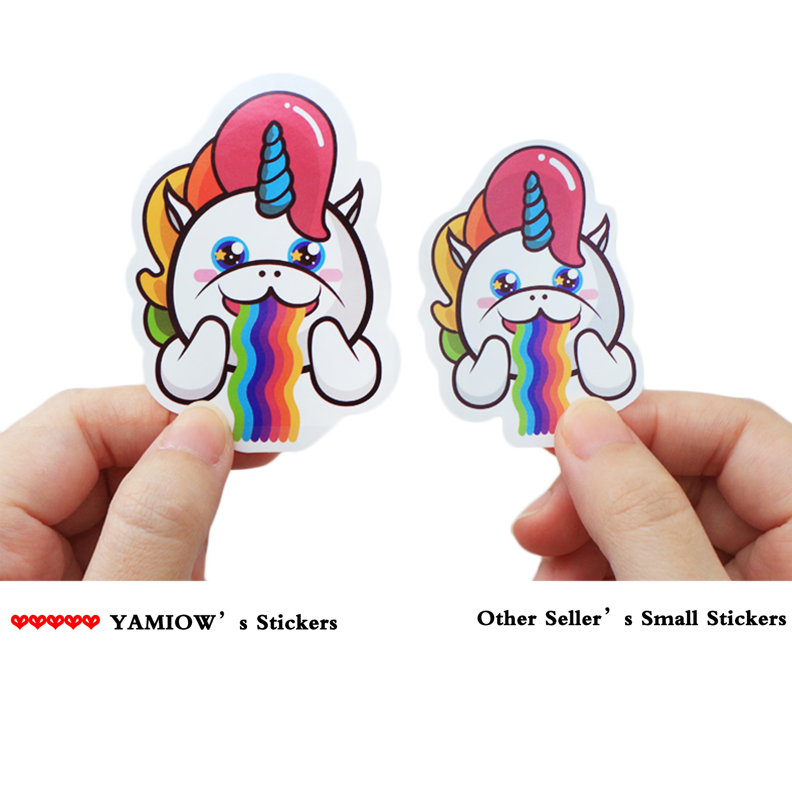 Купить с кэшбэком 104/52 Pcs VSCO Girl Unicorn Stickers Cute Funny Cartoon for Stickers for Water Bottle Laptop Luggage Skateboard Bedroom Toy