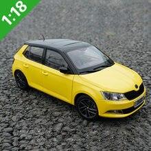 1:18 skoda fabia 2012 2016 liga diecast modelo de carro brinquedos metal modelo veículos caixa original