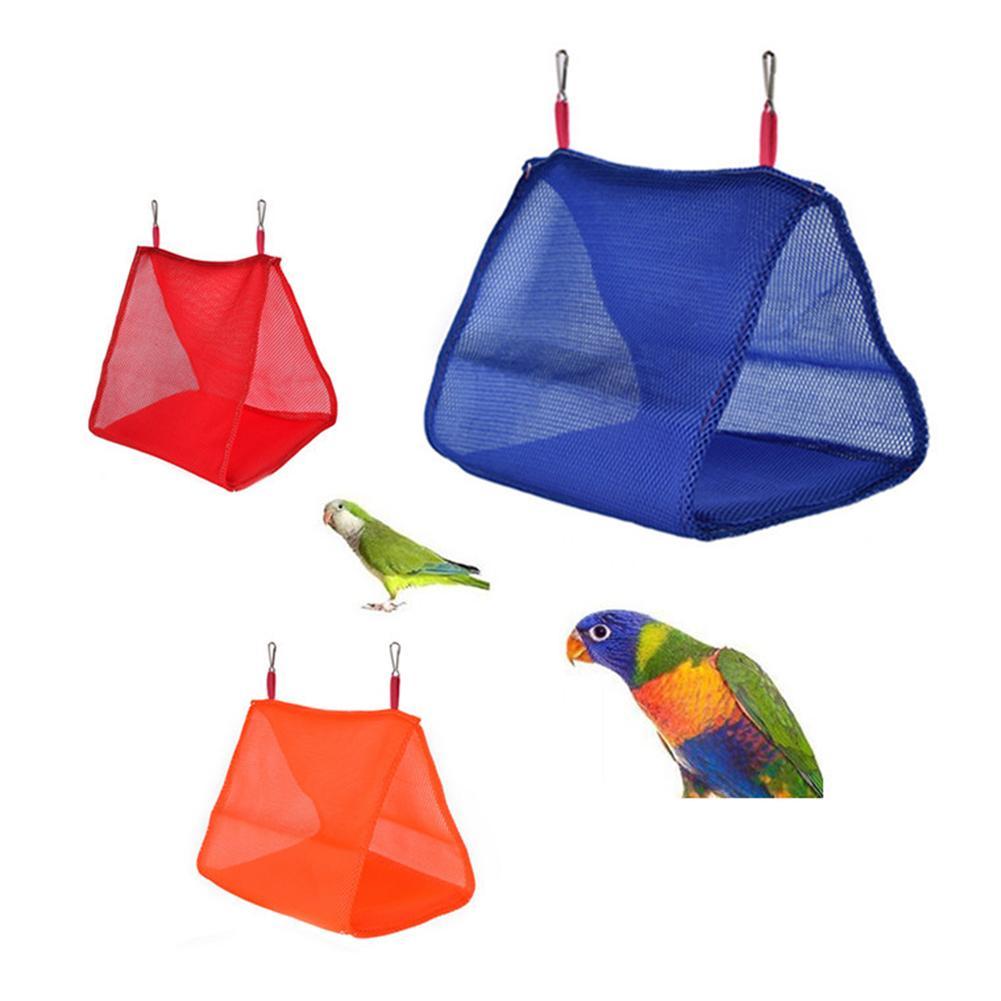 Летние дышащие гамак для птицы Попугай Майна Треугольники гамак утолщенная дышащая гамак для птиц для домашних животных
