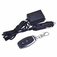 Kit de découpe d'échappement 12V vanne de découpe télécommande électronique avec boîte de commande Kit de faisceau de câblage de télécommande