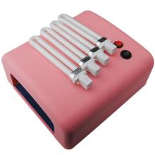 36W Dryer Nail UV Lamp Nail Art Lamp 110V-240V Lamp For Nails Drying Lampe UV Manicure Machine Pink White Nail Tools
