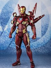 Marvel Avengers endgame Ironman MK50 Nano ensemble d'arme VOL.2 articulations figurines mobiles jouets(China)