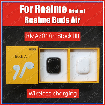 RMA201 12mm Dynamic Bass Boost Driver Original Realme Buds Air True Wireless Bluetooth Earphones TWS headset Dual Mic