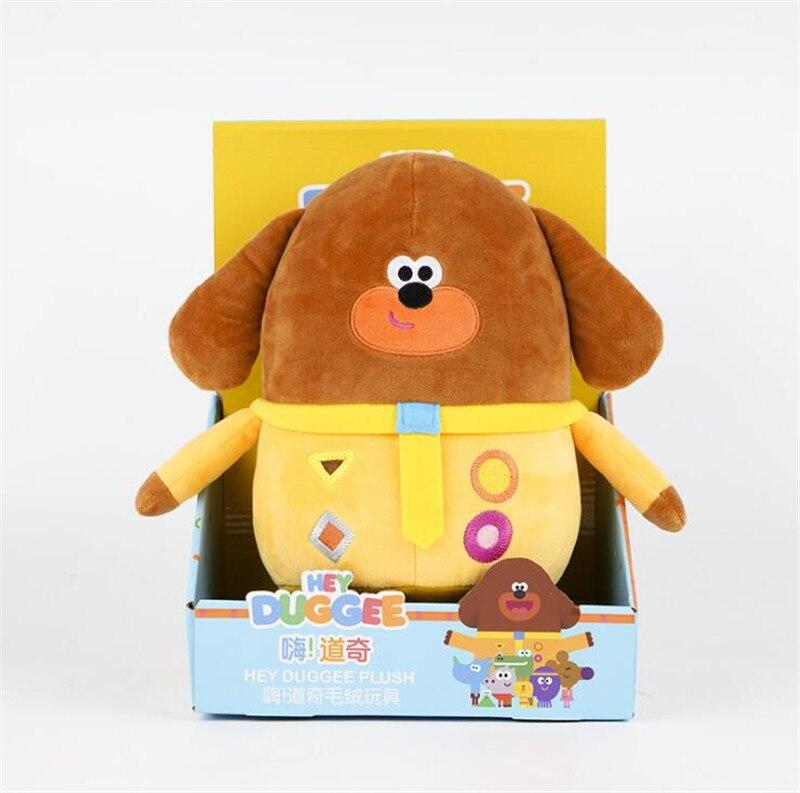 New Hey Duggee Plush Toy Dog Teacher Stuffed Doll Children Kids Christmas gifts