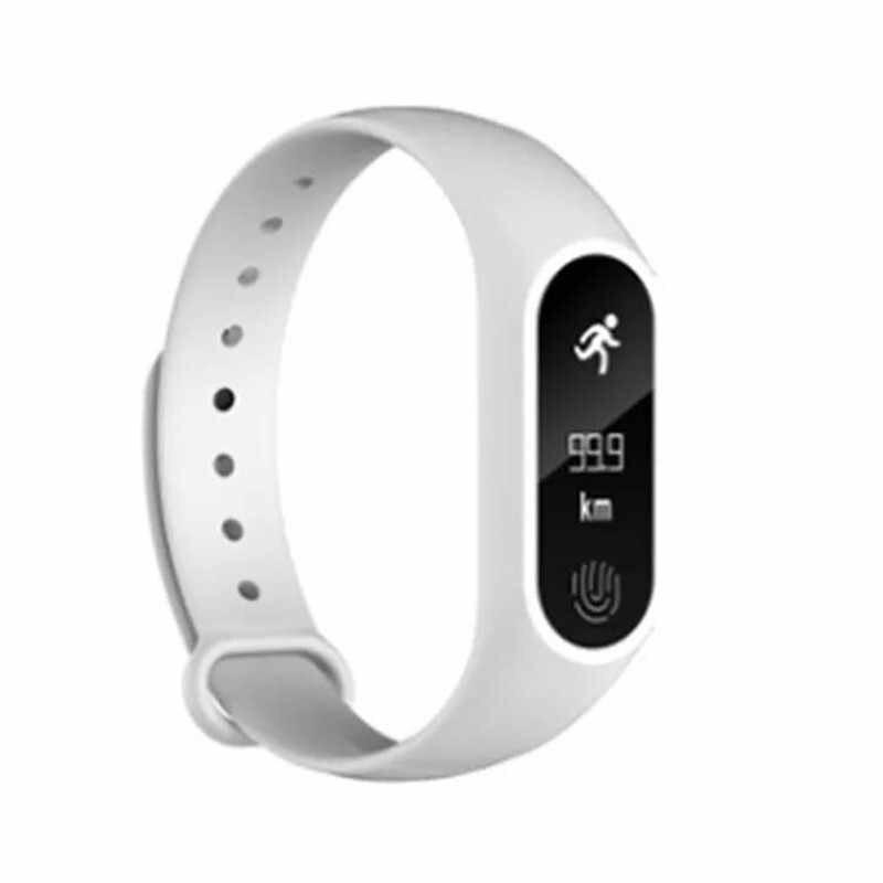 2019 חדש לגמרי באיכות גבוהה נשים גברים ספורט מד צעדים חכם צמיד קצב לב Bluetooth 4.0 חכם שעונים עבור אנדרואיד IOS