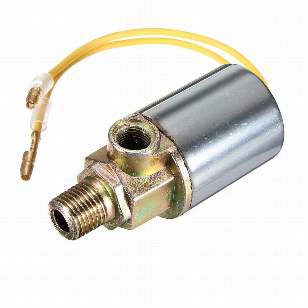 12V Air Horns /& Air Ride Systeme 1//4-Zoll-Metallzug LKW Air Horn Elektrisches Magnetventil Air Horn Magnetventil