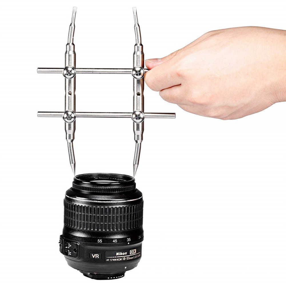 3K-WT инструмент открытия из нержавеющей стали объектив камеры оптический портативный многофункциональный Изогнутый наконечник ремонт гаечный ключ Винт