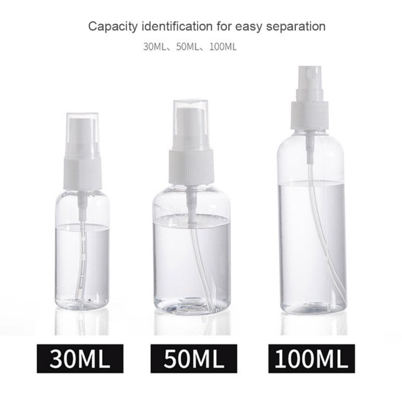 Mini Plastic Atomizer Hair Salon Tool Cosmetics Hairdressing Water Sprayer Container Spray Bottle Perfume Plastic Jar