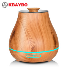 KBAYBO 400ml Electric air purifier humidifier ultrasonic aromatherapy essential oil sprayer with 7 colors LED lights цена и фото