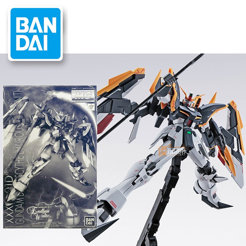 Original Gundam Model MG 1/100 PB Gundam DEATHSCYTHE EW ROUSSETTE UNIT Mobile Mobile Suit Kids Toys