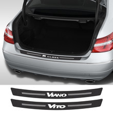 Autocollant de voiture en Fiber de carbone pour Mercedes Benz W124 W203 W204 CITAN SPRINTER VITO VIANO R classe V, accessoires automobiles