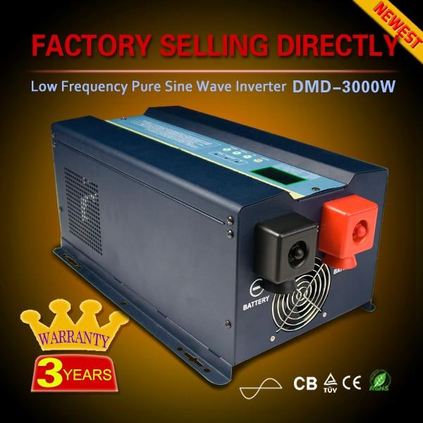 5000w 6000w 8000w 10000w 20000w 12v 24v 48v to 110v 220v Low Frequency Pure Sine Wave