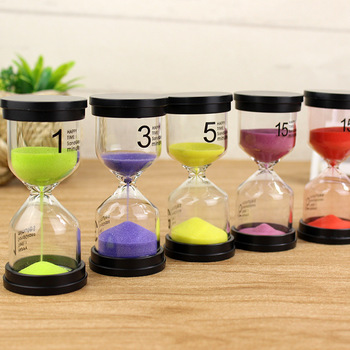 Color Random Hourglass 1/3/5/10/15/20 /30 Minutes Timer Minute Sand Watc H Clock Gift Timer Home Decoration Accessories недорого
