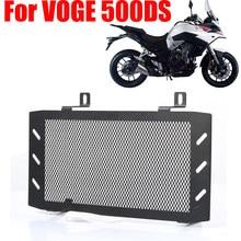Motocicleta grade de radiador guarda protetor grill capa proteção net para loncin voge 500 ds 500 r 300 r voge 500ds 500r 300r