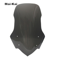 MAIKAI For HONDA NC700 NC750  2011-2015 Motorcycle Windscreen Wind Deflector Windshield Head Cover Sun Visor Viser