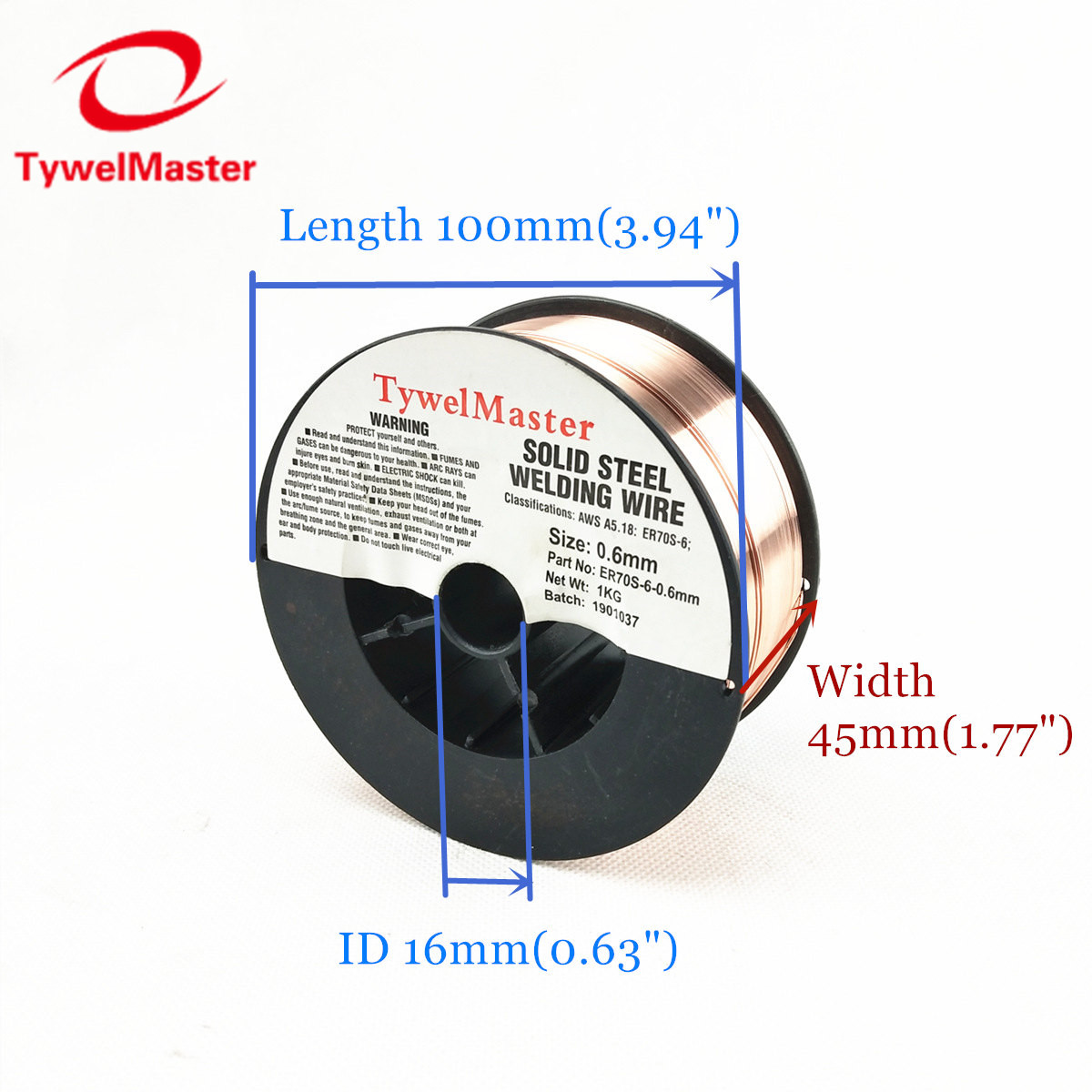 Carbon Steel MIG Welding Wire AWS ER70S-6 For Mig Welders 0.6mm 0.8mm 0.9mm Steel Wire