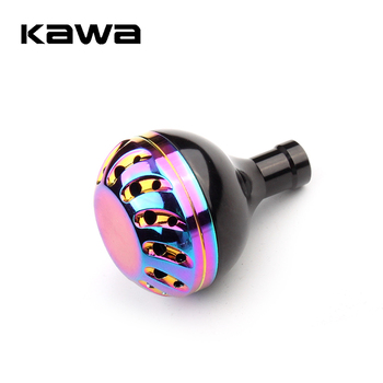 Kawa Fishing Reel Handle Knob Rainbow Color Alloy Suit For Daiwa And Shimano Accessory