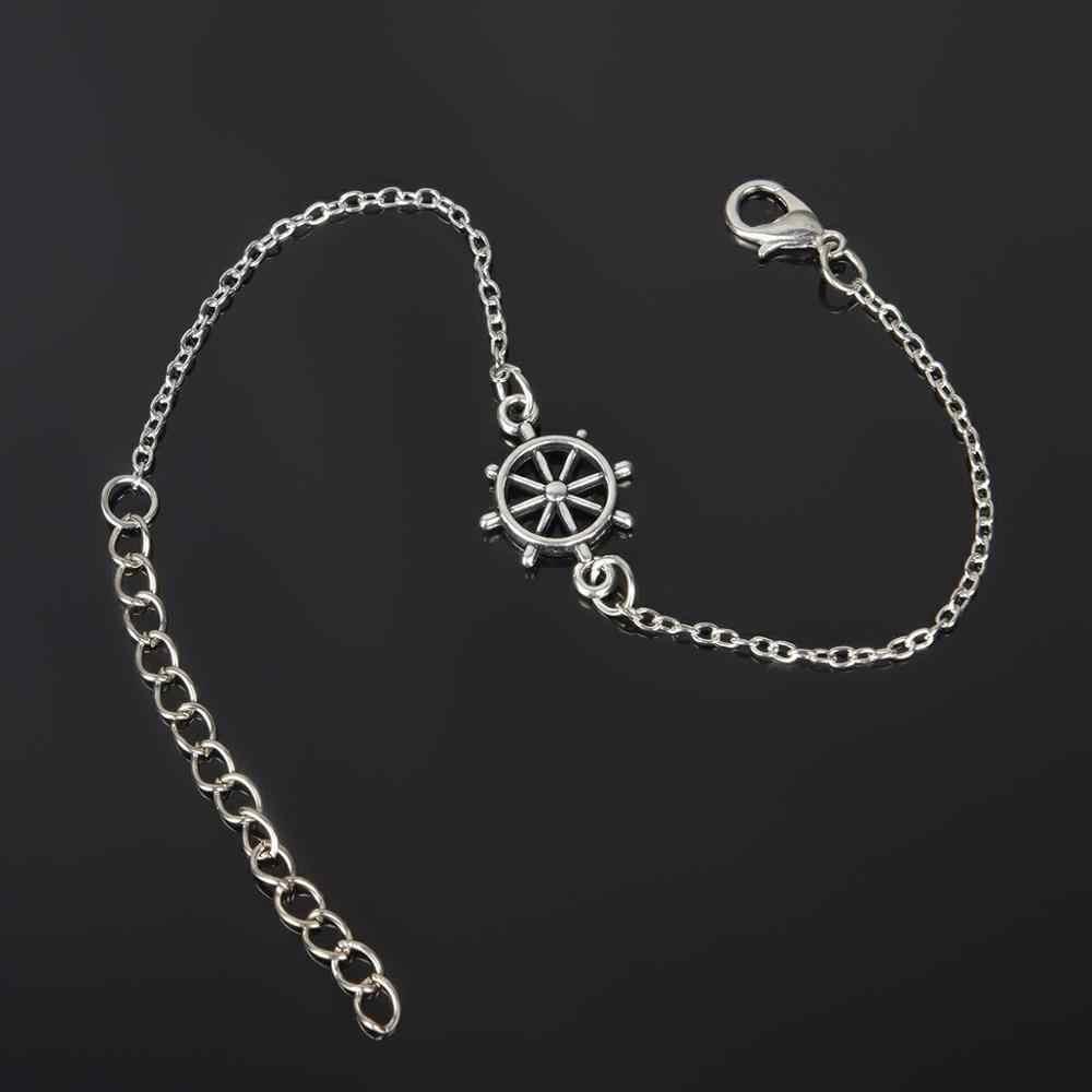 Серебряные наручники ножной браслет с манжетами на лодыжке для женщин и девочек пляжные свадебные бижутерия для ног для женщин вечеринки