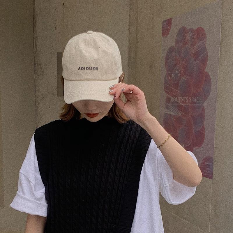 Lady 2021 New Cap Softtop Embroidered Letterhead Baseball Cap Sun Visors for Women  Visor Hat  Visor Hat  Summer Hats for Women