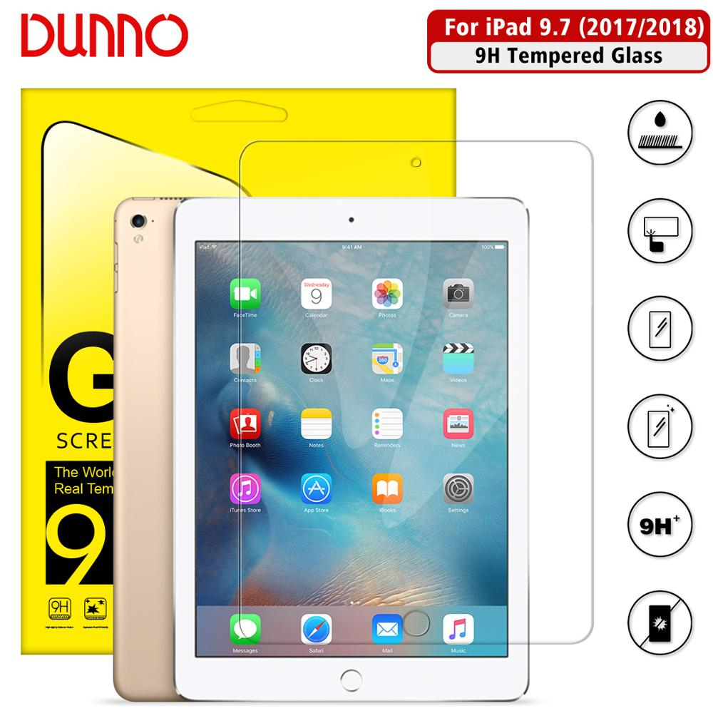 Tempered Glass Protective Film For IPad 9.7 Pro Screen Protector Apple IPad 2017 2018 5/6th Air1 Air2  Screen Film Protection