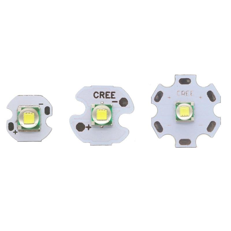 LED 3.2-3.4V 5050 CREE 1-3W 45mil Full Power LED Flashlight Car Lights Lamp Bead White 6500K With 10MM 16MM 20MM Aluminum PCB