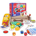 Jogo de mesa combinando memória imaginação foco observação, jogos para festas, crianças, presentes, caixa, aprendizagem criativa, brinquedos para crianças