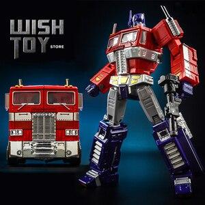Image 1 - Dönüşüm KBB MP10V MP 10V OP komutanı G1 alaşım koleksiyonu Voyager kamyon modu Anime aksiyon figürü Robot çocuk oyuncak araba modu