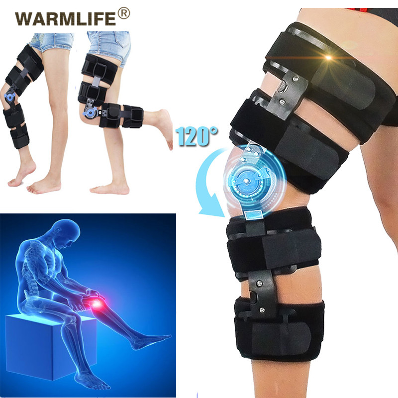 Medical Leg Knee Joint Pain Fixed Humerus Bracket Support Ligament Fracture Sprain Joint Knee Joint Lower Limb Support Orthosis