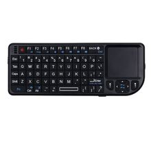 A8 2.4G Mini Wireless Keyboard with Handheld Touchpad for PC Smart TV Projector E65A
