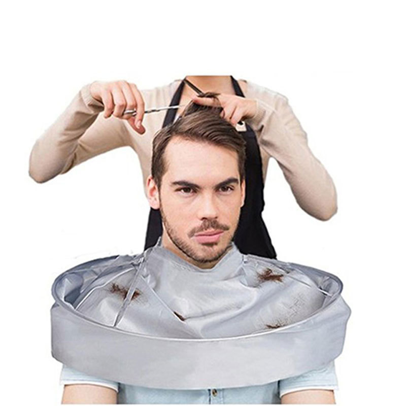 DIY Hair Cutting Cloak Umbrella Cape Salon Barber Salon And Home Stylists Using Cutting Styling Barber Gown Cape Hairdressing
