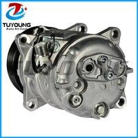 Compressor automático a/c para volvo 6849647  9171345  3545088  9171446 dks15vh 6pk 123mm