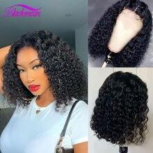 BLACKMOON 13*4 parte dianteira do laço perucas de CABELO Malaio do cabelo em linha reta peruca de cabelo humano remy perucas de cabelo 8-16 polegadas de extensão peruca de cabelo bob peruca
