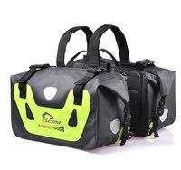 CUCYMA 50L Waterproof Motorcycle Saddle Bags Moto Racing Travel Luggage Multi Function Tank Bag Motorbike Saddlebags Suitcase