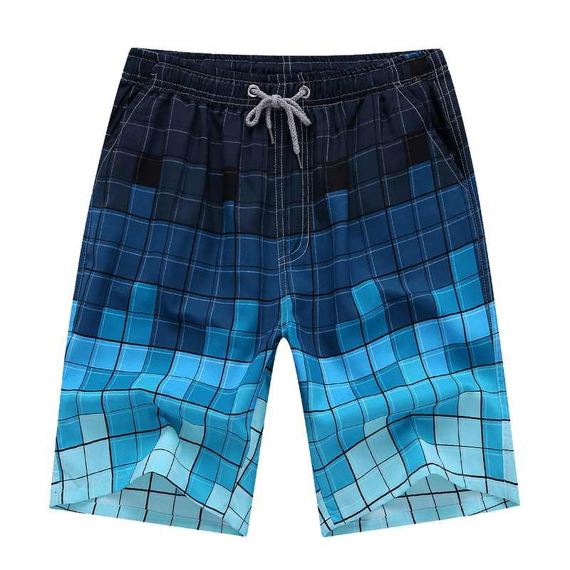 CYSINCOS Hot Beach Shorts Men Summer Quick Dry Comfortable Beachwear Homme Couple Casual Board Short Plus Size 4XL 3XL