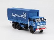 Nieuwe Product 1:43 Originele Verpakking Legering Russische MAZ-514B Van Vrachtwagen Model, Hoge Simulatie Klassieke Decoratie Speelgoed, Gratis Verzending