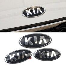 АБС-пластик, автомобильный Передняя решетка эмблема грузовика Стикеры украшения для логотип KIA K2 K3 KX3 K4 K5 Cerato KIA Ceed Рио Форте Sportage Sorento Picanto