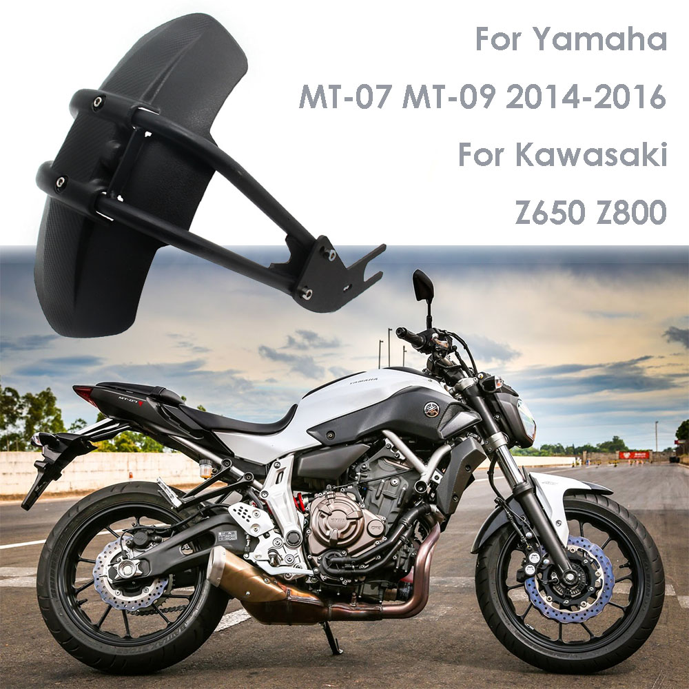 For Yamaha MT07 MT 07 MT09 MT-09 FZ250/XJR400/XJR1200/FZ1N/FZ6 Motorcycle Fender Rear Cover Back Mudguard Splash Guard Protector