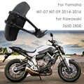 Per Yamaha MT07 MT 07 MT09 MT-09 FZ250/XJR400/XJR1200/FZ1N/FZ6 Moto Parafango Posteriore Della Copertura posteriore Parafango Splash Guard Protector