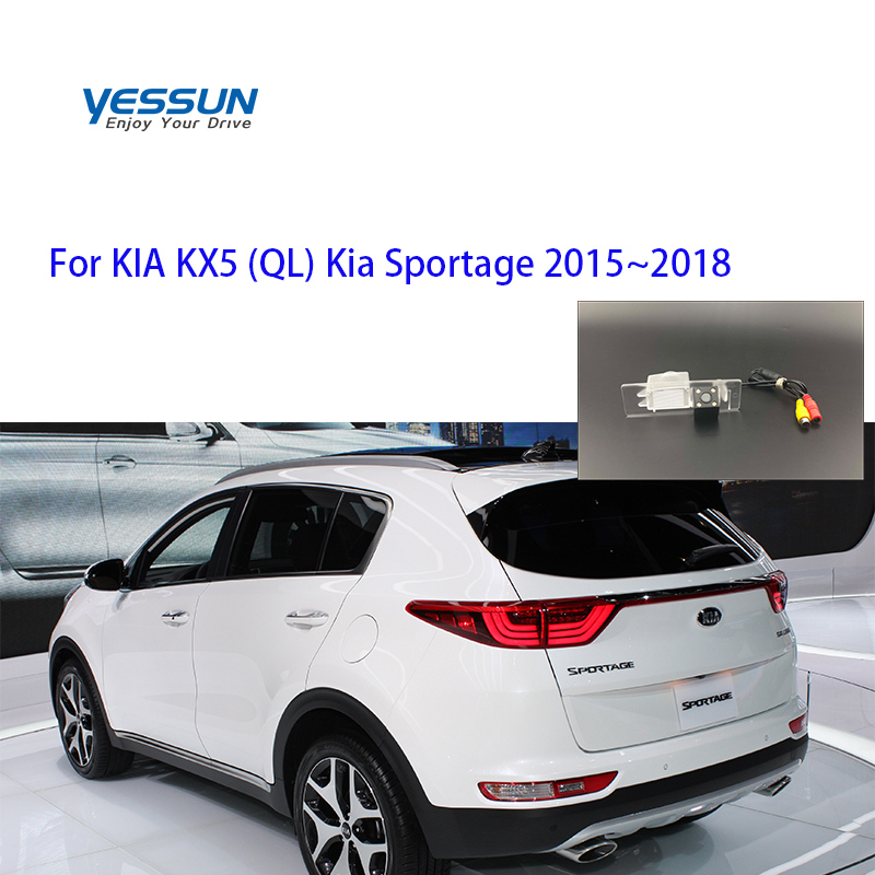 Yessun Car License Plate Camera For KIA KX5 QL Kia Sportage 4 QL 2015 2016 2017 2018 2019 CCD Camera/parking Rear Camera