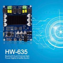 120Wx2 TPA3116D2 Bluetooth podwójny kanał wysokiej mocy wzmacniacz cyfrowy pokładzie głośnik stereo wzmacniacz