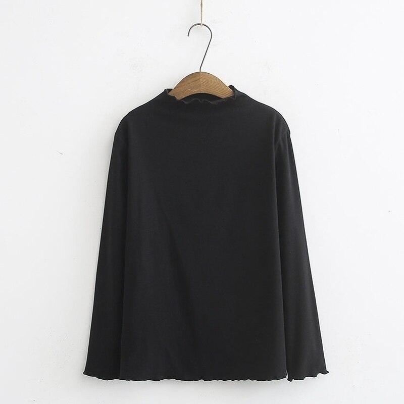 Grande taille 3XL-6XL femmes chemises solides porter des chemises à manches longues o-cou décontracté perte hauts
