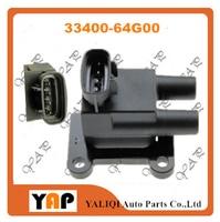 New High Quality Ignition Coil FOR FITSUZUKI BALENO Estate Hatchback 1.6L L4 33400-64G00 GLX1998 GI1998 1995-2005