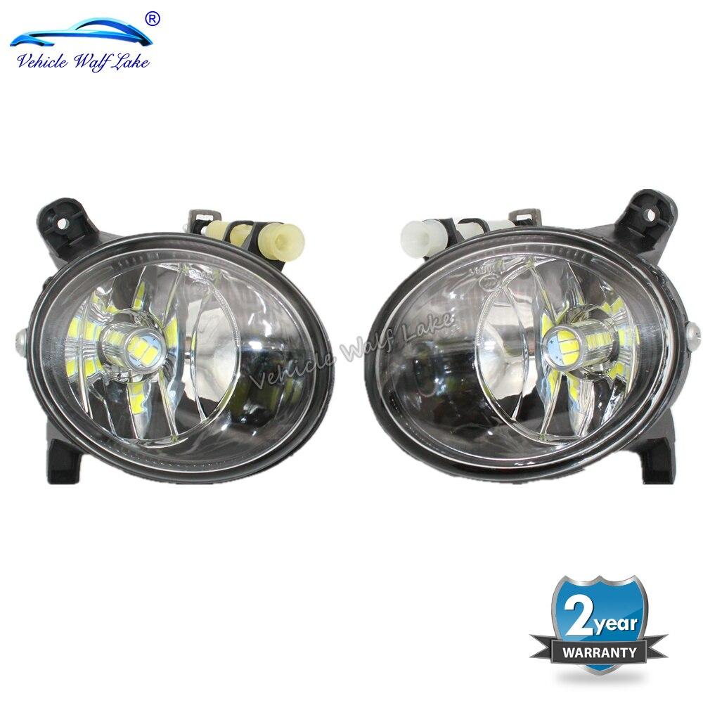 Для Audi A4 B8 S4 A4 Allroad 2008 2009 2010 2011 2012 2013 2014 2015 авто-Стайлинг спереди светодиодный туман светильник противотуманный фонарь светодиодный лампы