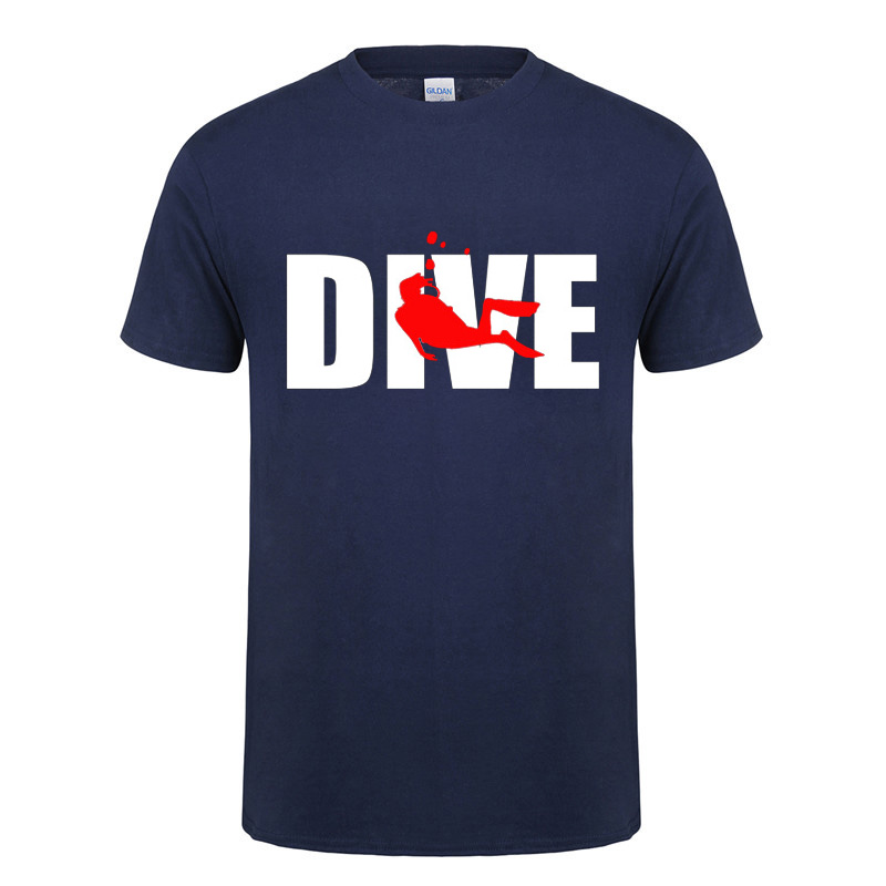 Evolution Of Scuba Diver Dive Funny T Shirts For Men Male O-Neck Short Sleeved Streetwear Cotton T-Shirt Tshirt Summer Tops Tee