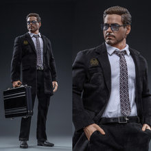 Коллекция 1/6 swtoys костюм Тони Старка с головой и телом без