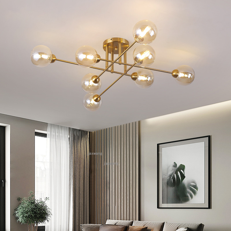 Light Luxury Living Room Ceiling Lights