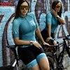 Kafitsummer nova camisa de ciclismo de manga curta terno de uma peça terno profissional feminino triathlon bicicleta de montanha macaquinho 16